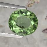 thumb image of 1.6ct Oval Facet Green Apatite (ID: 368961)