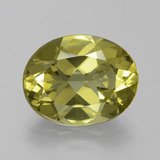 thumb image of 7.3ct Oval Facet Golden Green Apatite (ID: 385927)