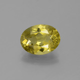 thumb image of 2.4ct Oval Facet Golden Green Apatite (ID: 387563)