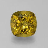 thumb image of 7.6ct Cushion-Cut Golden Apatite (ID: 387572)