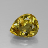 thumb image of 3.3ct Pear Facet Golden Yellow Apatite (ID: 390888)