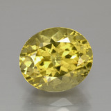 thumb image of 4ct Oval Facet Golden Yellow Apatite (ID: 390893)