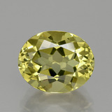 thumb image of 4.1ct Oval Facet Golden Yellow Apatite (ID: 390895)