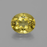 thumb image of 4.8ct Oval Facet Golden Yellow Apatite (ID: 391065)