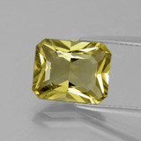 thumb image of 4.1ct Octagon / Scissor Cut Golden Yellow Apatite (ID: 391068)