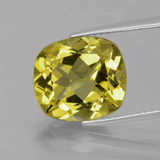 thumb image of 5.6ct Cushion-Cut Greenish Golden Apatite (ID: 391069)