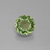 thumb image of 1ct Round Facet Green Apatite (ID: 392603)