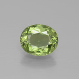 thumb image of 1.7ct Oval Facet Green Apatite (ID: 392607)