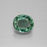 thumb image of 1.1ct Oval Facet Green Apatite (ID: 392677)