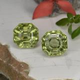 thumb image of 7ct Asscher Cut Golden Green Apatite (ID: 396011)