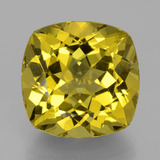 thumb image of 17.8ct Cushion-Cut Greenish Golden Apatite (ID: 398365)