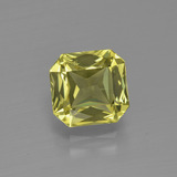thumb image of 2.1ct Octagon / Scissor Cut Golden Green Apatite (ID: 399843)
