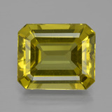 thumb image of 14ct Octagon Facet Greenish Golden Apatite (ID: 400910)
