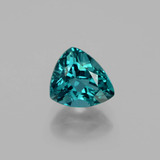 thumb image of 1.3ct Trillion Facet Blue Green Apatite (ID: 402275)