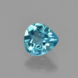 thumb image of 0.9ct Pear Facet Blue Apatite (ID: 402561)