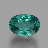 thumb image of 6.6ct Oval Facet Green Blue Apatite (ID: 404601)
