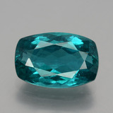 thumb image of 6.2ct Cushion-Cut Green Blue Apatite (ID: 404602)