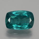 thumb image of 6.7ct Cushion-Cut Blue Green Apatite (ID: 404606)