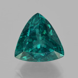 thumb image of 5.6ct Trillion Facet Green Blue Apatite (ID: 405956)