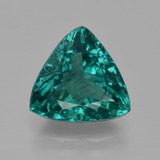 thumb image of 4.5ct Trillion Facet Green Blue Apatite (ID: 405959)