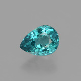 thumb image of 1.5ct Pear Facet Green Blue Apatite (ID: 406829)