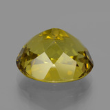 14.93 ct 椭圆形切面 Dijon Yellow 磷灰石 Gem 16.19 mm x 13.4 mm (Photo C)