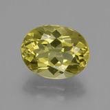 thumb image of 4.5ct Oval Facet Green Yellow Apatite (ID: 407750)