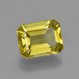 thumb image of 4.7ct Octagon Facet Golden Yellow Apatite (ID: 407844)