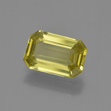 thumb image of 2.6ct Octagon Facet Golden Yellow Apatite (ID: 407846)
