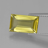 thumb image of 3ct Baguette Facet Light Yellow Apatite (ID: 407848)