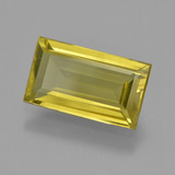 thumb image of 3.7ct Baguette Facet Brownish Yellow Apatite (ID: 407850)