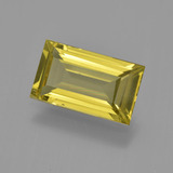 thumb image of 3.4ct Baguette Facet Golden Yellow Apatite (ID: 407852)