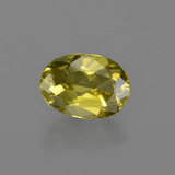thumb image of 1.9ct Oval Facet Green Yellow Apatite (ID: 408061)