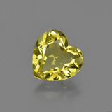 thumb image of 2ct Heart Facet Golden Yellow Apatite (ID: 408063)