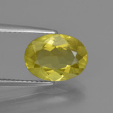 thumb image of 2.6ct Oval Facet Golden Green Apatite (ID: 408069)