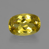 thumb image of 4.3ct Oval Facet Golden Green Apatite (ID: 408233)