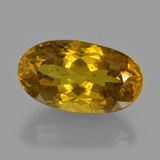 thumb image of 22.2ct Oval Facet Golden Apatite (ID: 415942)