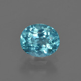 thumb image of 1ct Oval Facet Blue Apatite (ID: 420389)