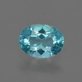 thumb image of 1ct Oval Facet Blue Apatite (ID: 420393)
