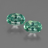 thumb image of 1.1ct Oval Facet Blue Green Apatite (ID: 422456)