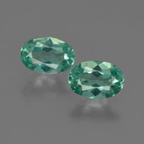 thumb image of 1ct Oval Facet Blue Green Apatite (ID: 422465)