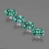 thumb image of 2.2ct Oval Facet Blue Green Apatite (ID: 422494)