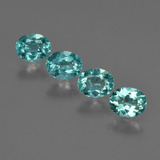 thumb image of 1.5ct Oval Facet Blue Apatite (ID: 422498)