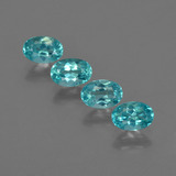 thumb image of 2.1ct Oval Facet Blue Apatite (ID: 422516)
