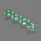 thumb image of 2.2ct Oval Facet Blue Green Apatite (ID: 422518)