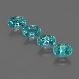 thumb image of 2.2ct Oval Facet Blue Apatite (ID: 422522)