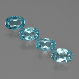 thumb image of 1.9ct Oval Facet Blue Apatite (ID: 422532)