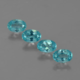 thumb image of 2ct Oval Facet Blue Apatite (ID: 422538)
