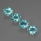 thumb image of 2.8ct Oval Facet Blue Apatite (ID: 424052)