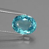 thumb image of 1.8ct Oval Facet Green Blue Apatite (ID: 429688)